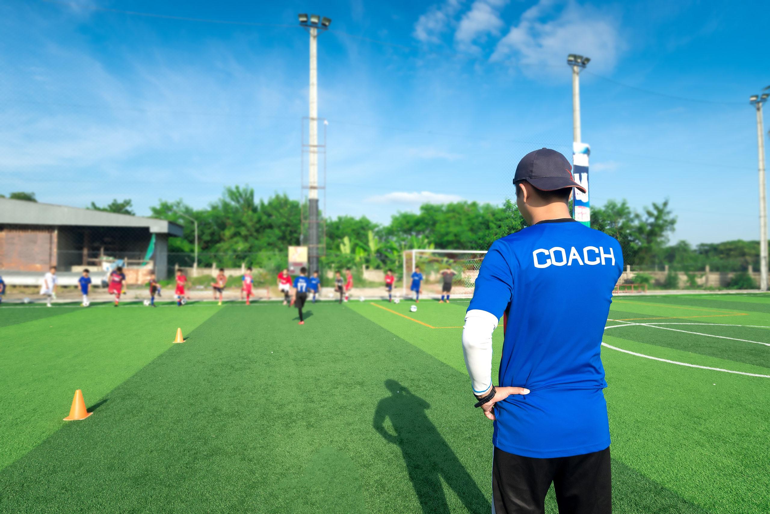 oog van de coach